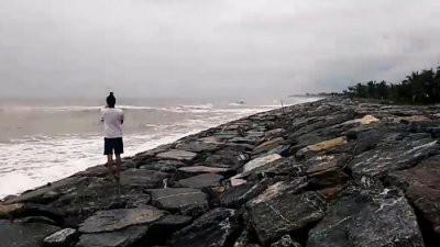 В Тайланде бушует тайфун «Пабук