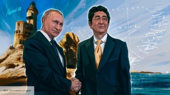 Абэ настаивает на продвижении переговоров по мирному договору с Россией
