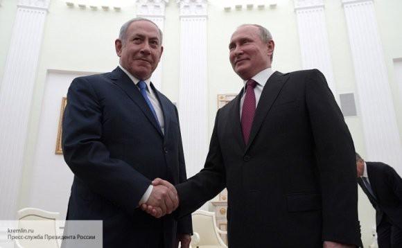 Биньямин Нетаньяху позвонил Владимиру Путину