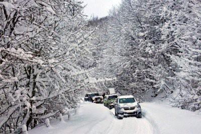 В Крыму спасатели разблокировали дорогу на плато горы Ай-Петри