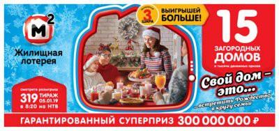 Состоялся рождественский тираж Жилищной лотереи