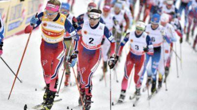 «Тур де Ски»: гонка преследования женщины 6 января - на каком канале