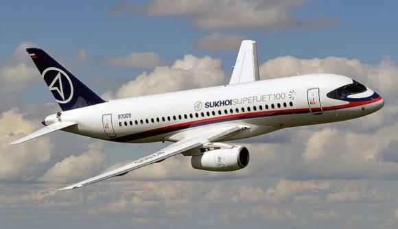 СМИ: Минфин США заблокировало поставки Sukhoi Superjet 100 в Иран