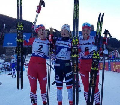 «Тур де Ски»: Наталья Непряева заняла второе место в масс-старте