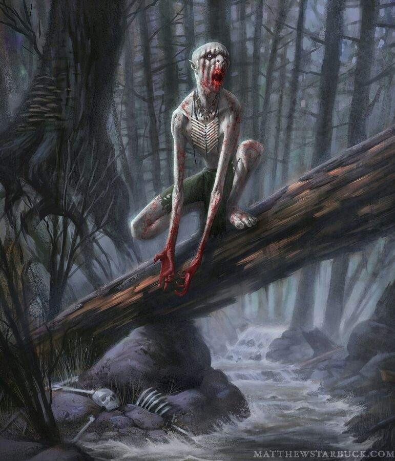 Как в нашем лесу завелось чудовище