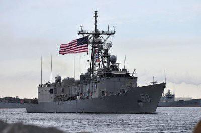В акваторию Черного моря вошел большой десантный корабль ВМС США