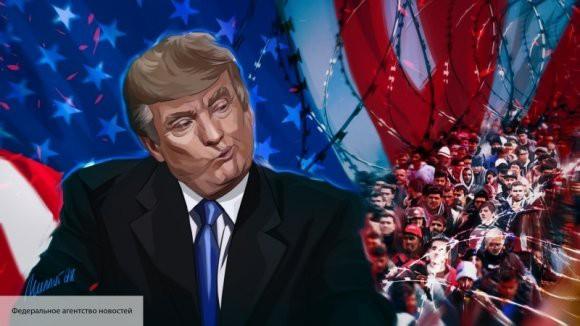 Трамп намерен посетить границу с Мексикой