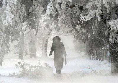 На Москву надвигаются морозы