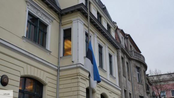 В Таллине убрали плакаты разделяющие русских и эстонцев