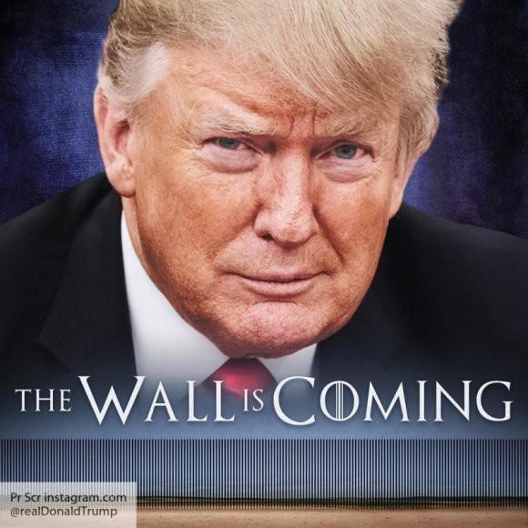 Дональд Трамп хочет ввести в США режим ЧП ради возведения стены с Мексикой