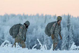 ВФинляндии проходят учения СШАиЭстонии поведению боевых действий зимой