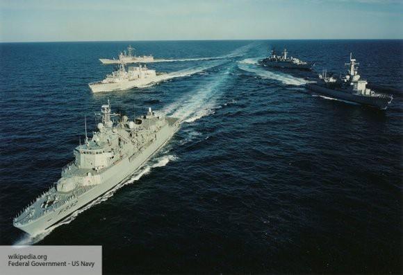 Группа кораблей НАТО планирует зайти в Черное море
