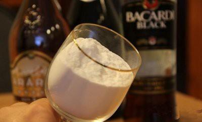 В России запрещен порошковый алкоголь