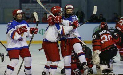 Женская сборная России проиграла на МЧМ Канаде
