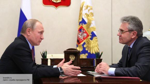 Путин проведет встречу с президентом РАН Сергеевым