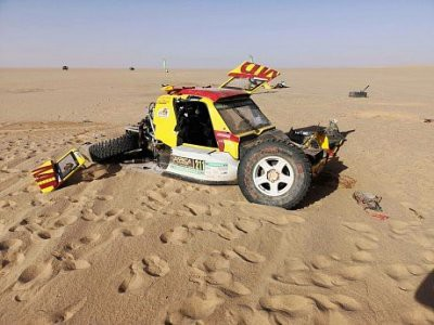 Пилот «КАМАЗ-Мастер» Сергей Куприянов разбился на ралли Africa Eco Race 2019