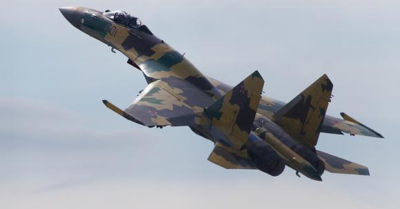 Авиационный полк ЗВО получил первую партию новейших Су-35