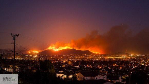 Трамп запретил выделять деньги Калифорнии на борьбу с лесными пожарами