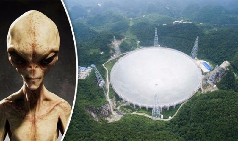 Китайский телескоп FAST поймал инопланетные сигналы