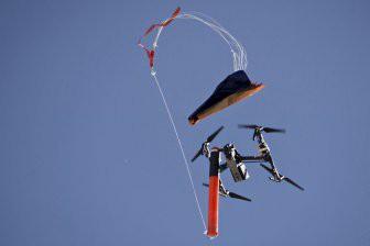 DJI и Indemnis разработали парашют для дронов