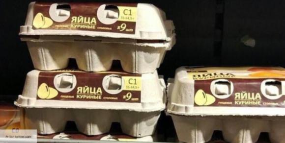 Птицефабрика объяснила, с чем связана упаковка яиц по девять штук