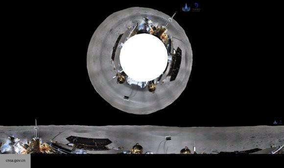 В Китае опубликовали видео, как луноход сел на обратную сторону Луны