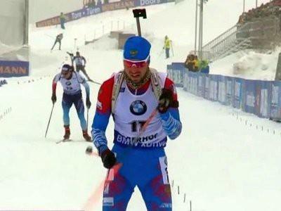 Александр Логинов выиграл спринтерскую гонку в Оберхофе