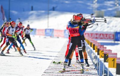 Кубок мира по биатлону: женская гонка преследования 12 января 2019 - анонс