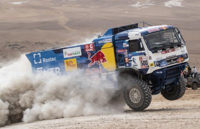 Экипаж Николаева из «КАМАЗ-Мастер» победил на пятом этапе «Дакара»