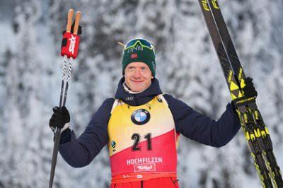 Йоханнес Бё выиграл гонку преследования на четвертом этапе Кубка мира по биатлону