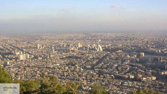 МИД Сирии направил жалобы в ООН из-за атаки Израиля на окрестности Дамаска