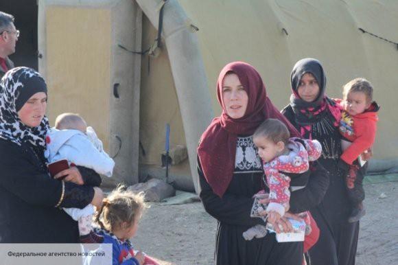Больше тысячи сирийских беженцев вернулось на родину за прошедшие сутки