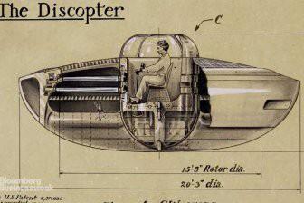 В США в 1944 году мужчина запатентовал НЛО