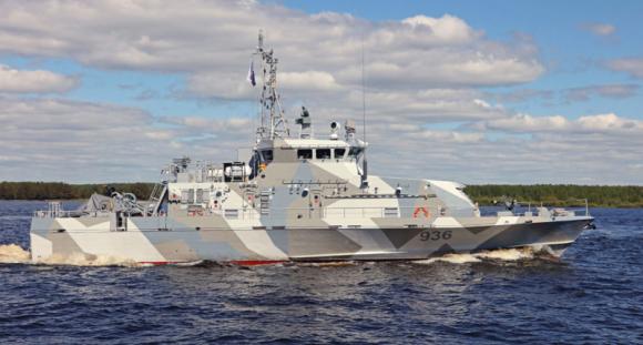 Новый катер проекта 21980 «Грачонок» поступил на вооружение Тихоокеанского флота