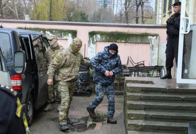 Дело украинских моряков отказались передать в военный суд