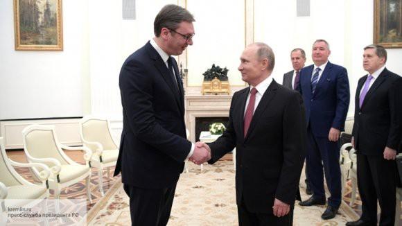 «Вучич – за Россию»: Миронов оценил гостеприимство Путина по отношению к сербскому лидеру