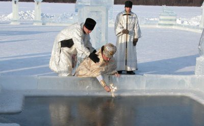 Адреса прорубей в Санкт-Петербурге на Крещение 2019: полный список где искупаться в купели 19 января адреса