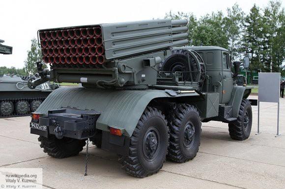 Российские военные получат новые системы залпового огня