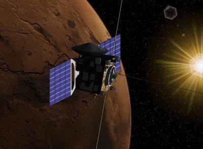 Космические аппараты принесли на Марс земную жизнь