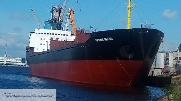 В Великобритании арестовали сухогруз Мурманского морского пароходства «Кузьма Минин»