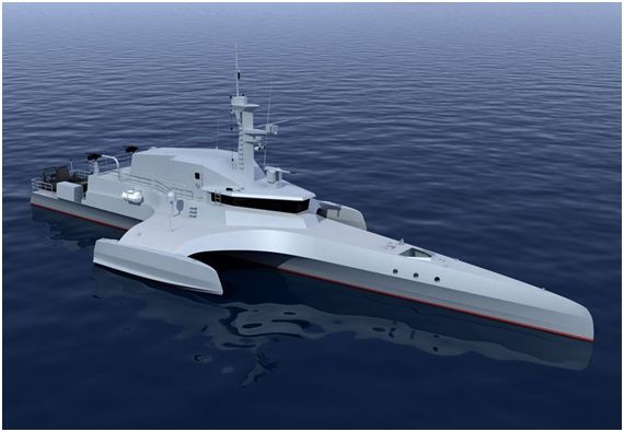 Беспилотные корабли: неожиданная реальность?