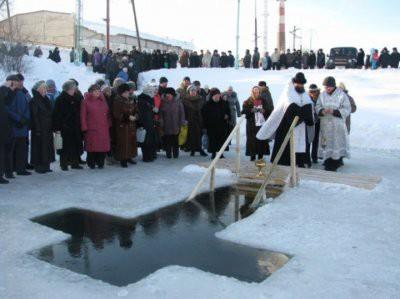 Где можно окунуться в прорубь на Крещение 2019 в Санкт-Петербурге