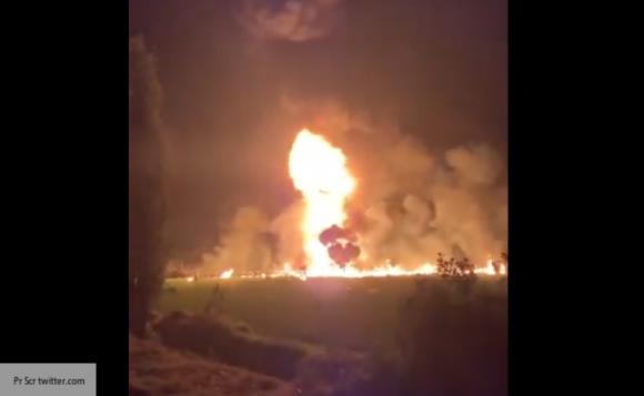 При взрыве трубопровода в Мексике погиб 21 человек