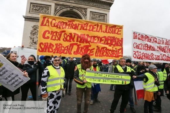 Чего ждать от десятого акта протестов «желтых жилетов»?