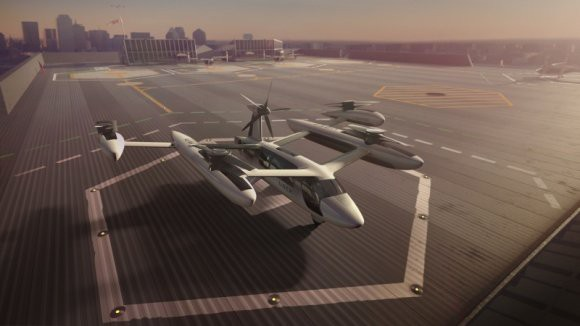 Летающий Uber: В США появится аэротакси в 2023 году