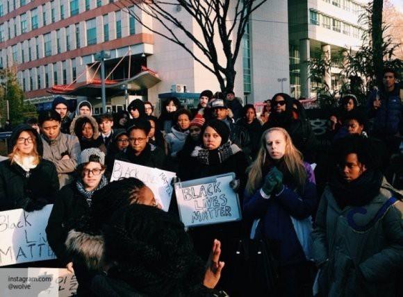 В США прошли массовые акции протеста