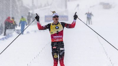 Йоханнес Бё выиграл масс-старт на 5 этапе Кубка мира в Рупольдинге