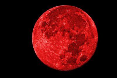 Трансляцию лунного затмения можно увидеть в прямом эфире