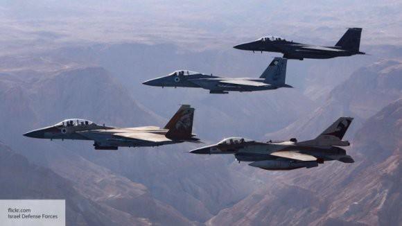 В результате атаки ВВС Израиля погибло четыре сирийских военных
