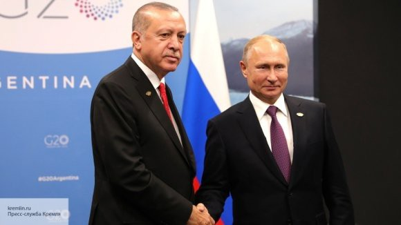 Эрдоган хочет обсудить с Путиным вопрос создания зоны безопасности в Сирии